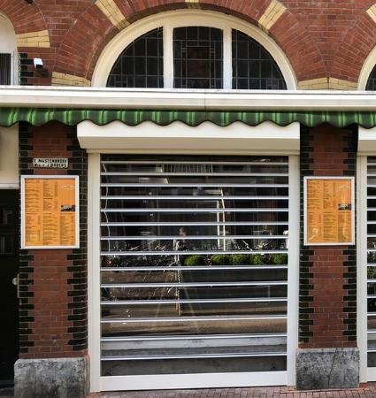 Transparante roldeur - Alpha deuren Zuid-West