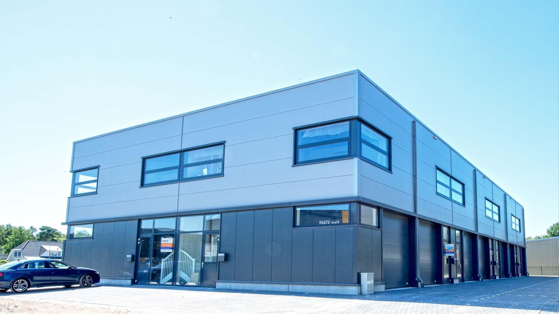 Bedrijfsunits project - Alpha deuren Zuid-West