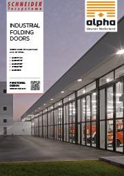 Industriële vouwdeur - diverse varianten