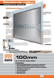 Aluminium roldeur - meer informatie