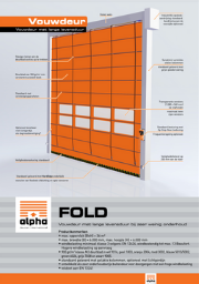 Fold - Alpha deuren Zuid-West