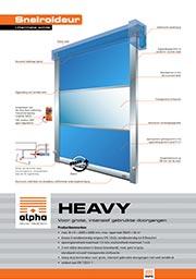 Heavy indoor - Alpha deuren Zuid-West