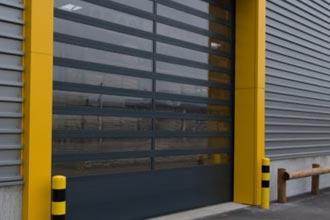 Alpha deuren Zuid-West - Snelloopdeuren - Helix S600 ISO en ALU