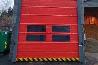 Alpha deuren Zuid-West - Snelloopdeuren - Fold