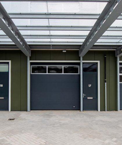 Project bedrijfsunits - Alpha deuren Zuid-West