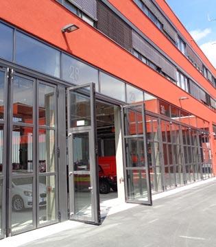 Alpha deuren Zuid-West - Alpha deuren Zuid-West - industriële vouwdeuren
